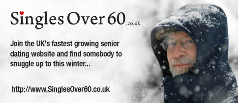 Join Singles Over 60, the UK's biggest senior dating website.