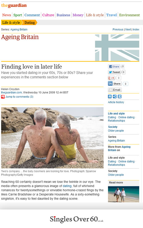 Dating websites for over 60
