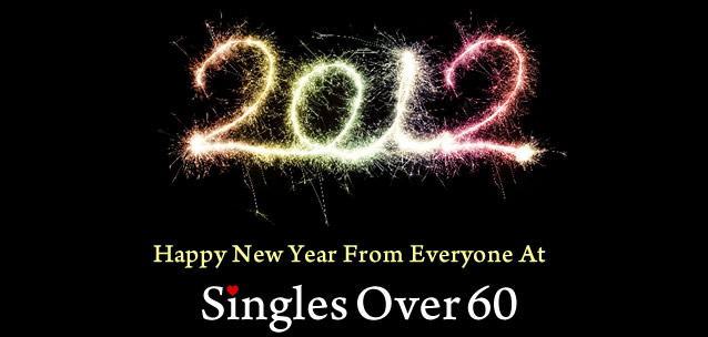 Happy New Year From Singles Over 60 UK Senior Dating 2012