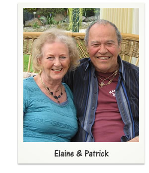 Elaine and Patrick together - Another SinglesOver60.co.uk success