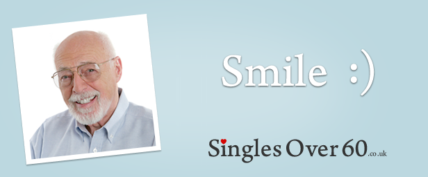 Smile to get your senior dating profile noticed